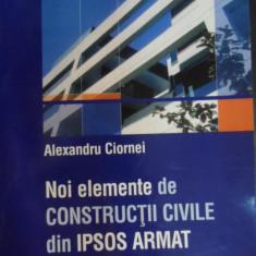Noi Elemente De Constructii Civile Din Ipsos Armat - Ion Teoreanu ,548248