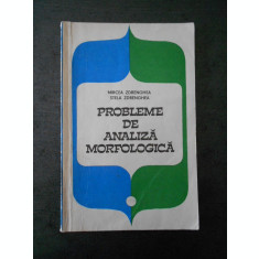 MIRCEA ZDRENGHEA - PROBLEME DE ANALIZA MORFOLOGICA