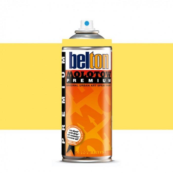 Spray vopsea Belton Molotow Premium 400 ML 007 cashmere yellow