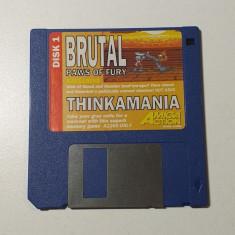 Joc AMIGA Brutal Paws of Fury + Thinkamania - DEMO - G