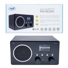 Resigilat : Internet radio DAB si FM PNI RD290 prin Wi-Fi, analog FM, Spotify Conn