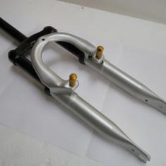 Furca bicicleta suspensii pe arc 20 inch DHS