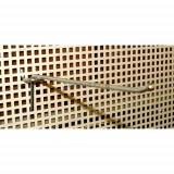 Carlig simplu zincat in tabla perforata, 100 mm (K-PFszh-100)