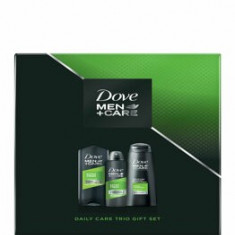 Set cadou Dove Men+Care Extra Fresh Trio (Deospray, 150 ml + Gel de dus, 250 ml + Sampon, 250 ml)