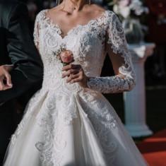Rochie de mireasa A line , xs-s