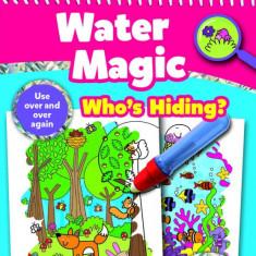 Carte de colorat Galt Who's Hiding, 3 ani+