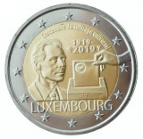 RAR - Luxemburg moneda comemorativa 2 euro 2019 - 100 ani Vot universal - UNC