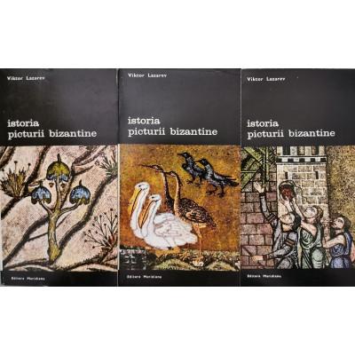 Istoria picturii bizantine (Vol. 1 + 2 + 3) - Viktor Lazarev foto