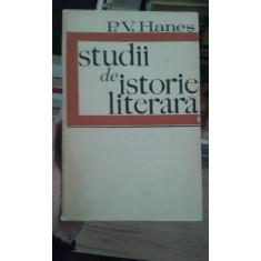 Studii de istorie literara – P.V. Hanes