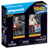 Set de Constructie Marty si Dr Brow - Inapoi in Viitor, Playmobil