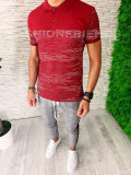 Tricou slim fit polo -  tricou barbati - tricou fashion - A5371
