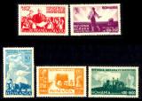 1946 LP190 serie Reforma agrara - colita MNH, Nestampilat