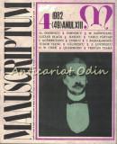 Cumpara ieftin Manuscriptum. Revista Trimestriala - Nr.: 4/1982 * (49) Anul XIII