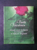 VASILE VOICULESCU - ULTIMELE SONETE INCHIPUITE ALE LUI SHAKESPEARE ...