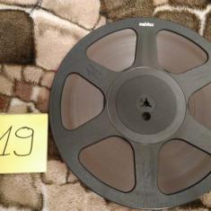 19.Banda Magnetofon REVOX rola policarb.26cm-Black (Akai,Teac,Tascam,Agfa,BASF)