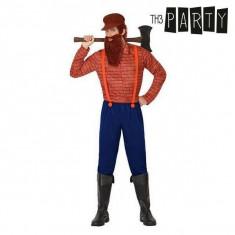 Costum Deghizare pentru Adulți Tăietor de lemne (3 Pcs)