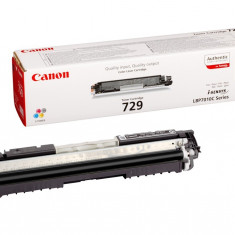 Toner original Canon CRG-729BK Black