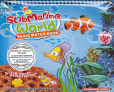 Submarine world. Magic Water Book. Carte de colorat cu apa |