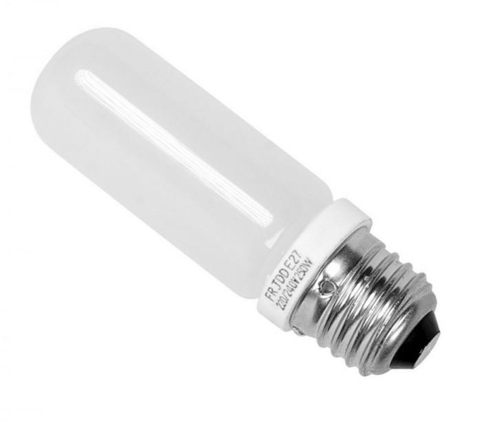 Lampa de modelare bec halogen 250W pentru blitz-uri de studio cu fasung E27
