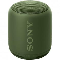 Boxa portabila Sony SRSXB10G, EXTRA BASS, Bluetooth, NFC, Wi-Fi, Rezistenta la stropire, Verde