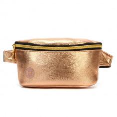 Borseta Mi-Pac Bum Bag Metallic Rose Gold - Cod 10681