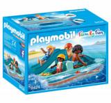 Cumpara ieftin Playmobil Family Fun, Familie cu hidrobicicleta