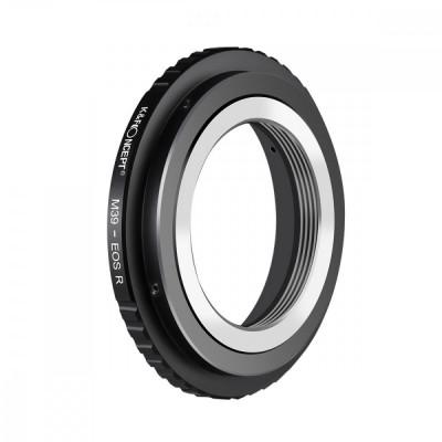 K&F Concept M39-EOS R adaptor montura de la M39 la Canon EOS R-mount KF06.387 foto