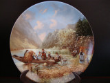 APLICA / FARFURIE DECORATIVA DIN PORTELAN SELTMANN WEIDEN BAVARIA - BRADEX