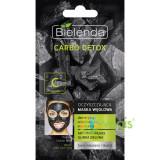 Carbo Detox Masca De Fata Cu Carbune Activ si Argila Verde Pentru Ten Mixt 8g