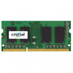 Memorie notebook Crucial 4GB, DDR3, 1600MHz, CL11, 1.35v