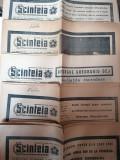 LOT 5 ZIARE /ZIAR SCANTEIA - FUNERALIILE LUI GHEORGHIU DEJ 21-25 MAR 1965 RSR