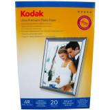 Hartie foto Kodak Ultra Premium High Glossy 4R RC, 270 g/mp, 20 coli/pachet