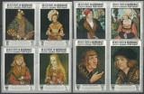 Qu´aiti State Hadhramaut 1967 Paintings Cranach imperf. Mi.147B-154B MNH U.090, Nestampilat