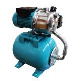 Hidrofor de mare putere Elefant Aquatic AUTOJS80, 1000 W, 50 l/min, rezervor 24 l, inox-otel+Cadou cizme pvc 37-42 marimi la alegere