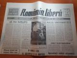 """Romania libera 9 mai 1990-art""""reprezentantii revolutiei anticomuniste nu au..."""""""