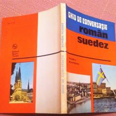 Ghid de conversatie roman-suedez. Editura Sport-Turism, 1977 - Valeriu Munteanu