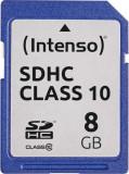 Card de memorie Intenso 8GB SDHC Clasa 10