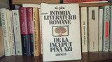Istoria literaturii romane de la inceput pana azi - Al. Piru