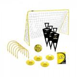 Set fotbal MVS cu poarta minge si jaloane