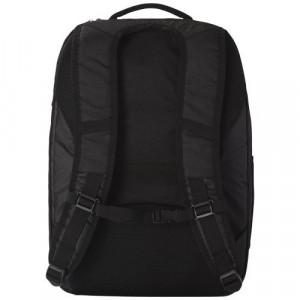 Rucsac Laptop pentru calatorii cu avionul, Everestus, 15 inch, nylon si pvc, negru, saculet si eticheta bagaj incluse