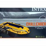 Barca gonflabila Intex Challenger 3 pompa + vasle incluse, 2.95m x 1.37m