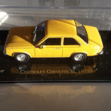 Macheta metal chevrolet chevette sl 1979 - ixo, scara 1/43, noua., 1:43