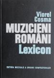 Muzicieni romani Lexicon - Viorel Cosma