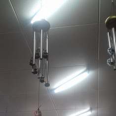 Clopotei vant feng shui cu 6 tuburi metalice