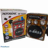 Radio portabil Waxiba XB-182URT, suport card SD/USB
