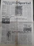 Ziarul Sportul din 7 februarie 1977
