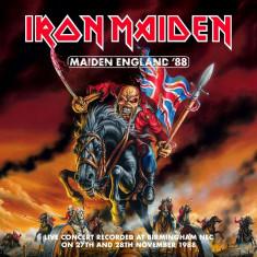 Iron Maiden Maiden England 88 (2cd)
