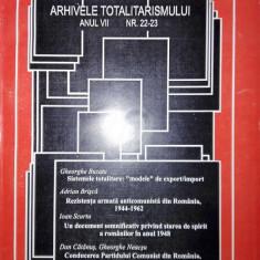 Arhivele totalitarismului, anul VII, nr. 22-23