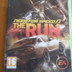 Joc XBOX 360 Need for speed The Run original PAL / by WADDER, Curse auto-moto, 16+, Single player