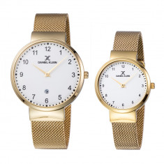 Set ceasuri pentru dama si barbati, Daniel Klein Pair, DK11977-6
